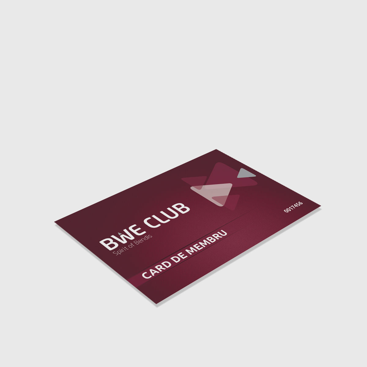 Card Membru BWE
