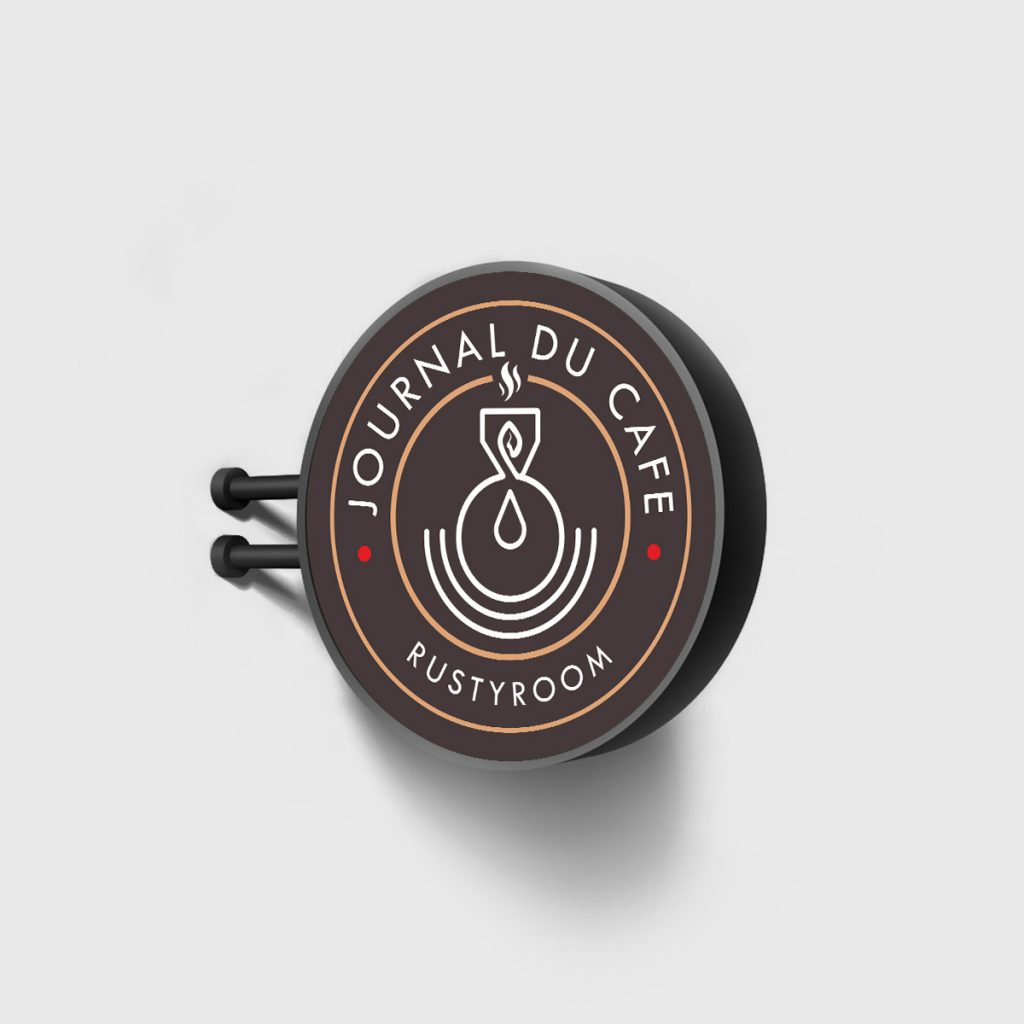 Concept logo – Journal du Cafe