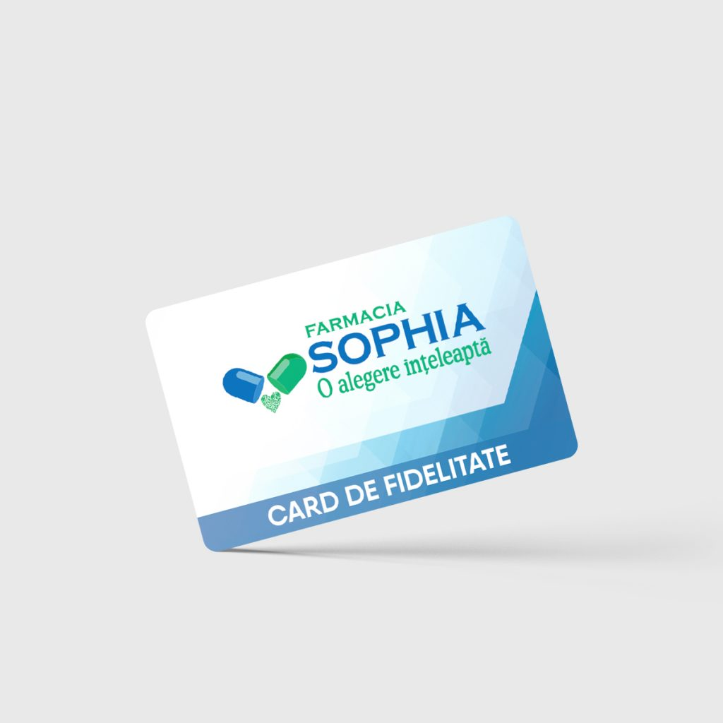 Card de fidelitate Farmacia Sophia