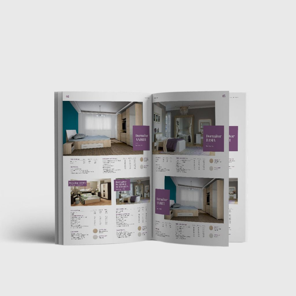 Cataloage mobilier – Marcel Prod