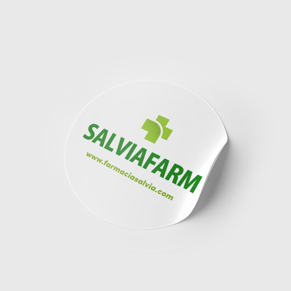 Stickere personalizate Salviafarm