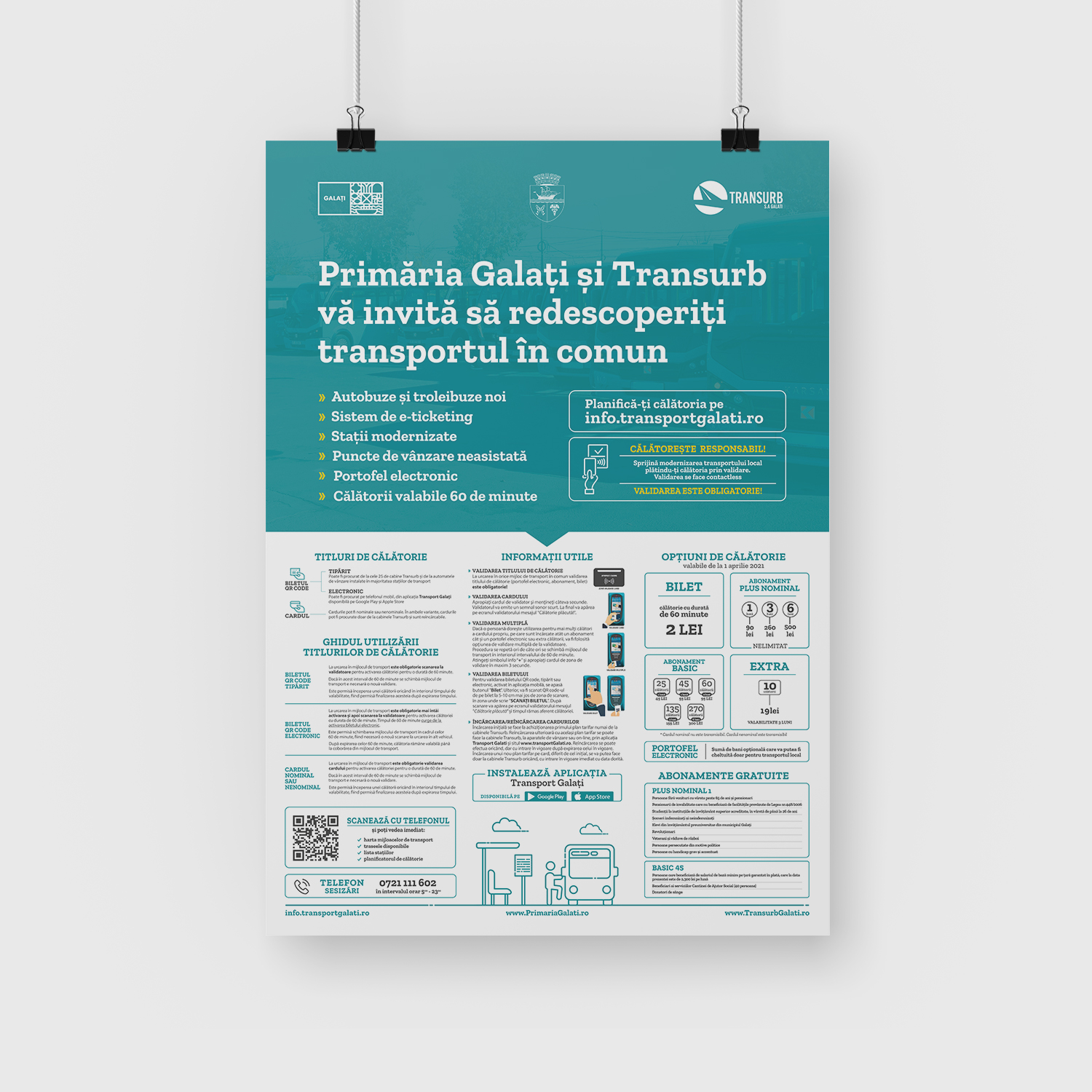 Poster Transurb, format A1