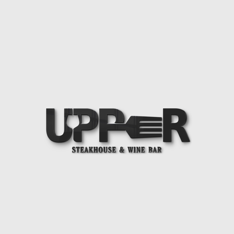 Logo design – Upper – Steakhouse & Wine Bar