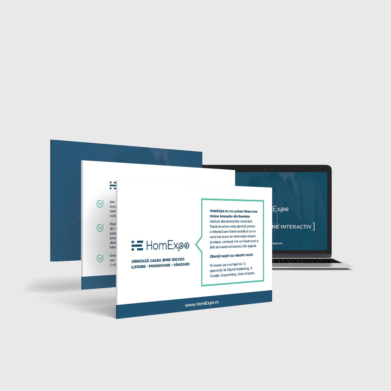 Prezentare personalizată, în format digital